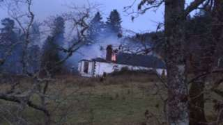 Firefighters called to historic Boleskine House on Loch Ness