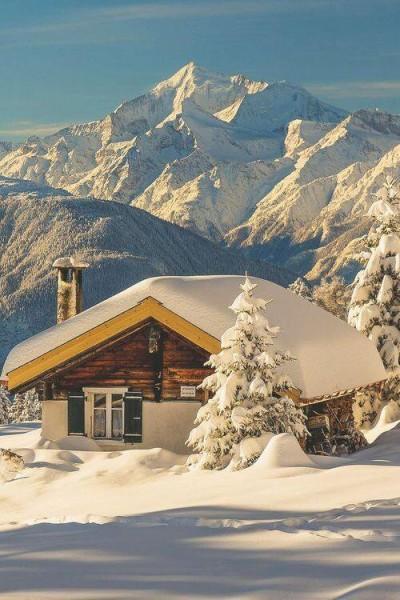 Snow Cabin, The Alps, Switzerland