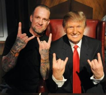 Trump-Satanic-Hand-Sign