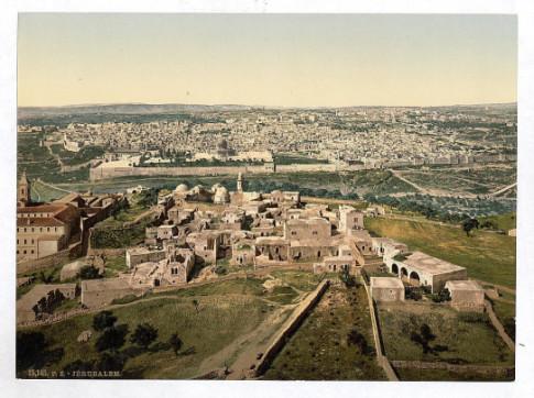 jerusalem-palestine-1900s