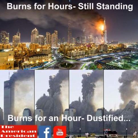 911-Burning