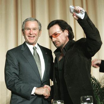 Bush-Bono-Masonic-Handshake