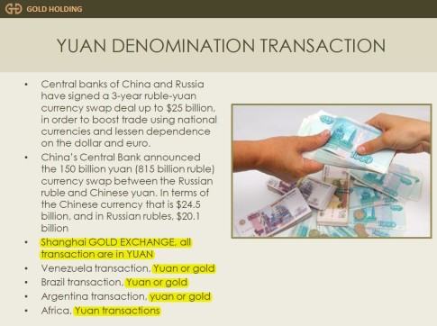 Gold Holding China gold