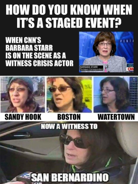 How Do You Know It's A Staged Event