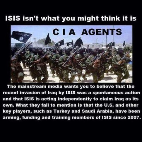 ISIS-CIA Agents