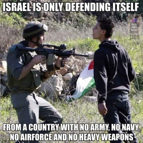 Israel Is Only Defending Itself