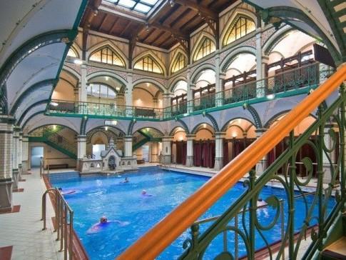 Johannisbad baths in Zwickau, Saxony