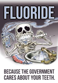 Teeth-fluoride