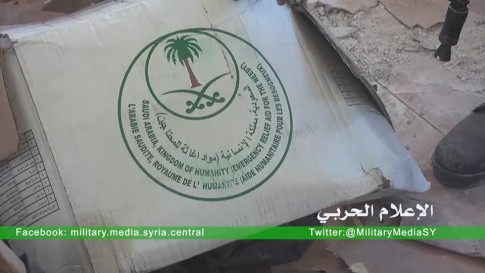 Supplies from Saudi Arabia and Turkey found inside Villages Liberated from ISIS