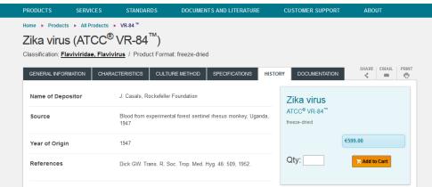 Zika virus Rockefeller foundation