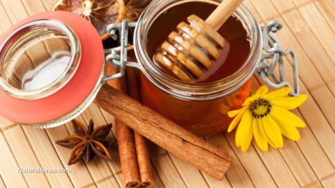 Cinnamon-Honey-Remedy-Flower