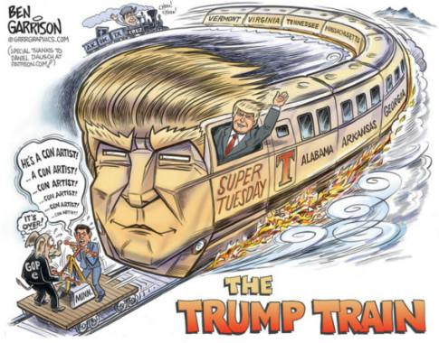 Donald-Trump-Train