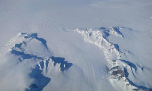 NASA shows mass ice gains in Antarctica