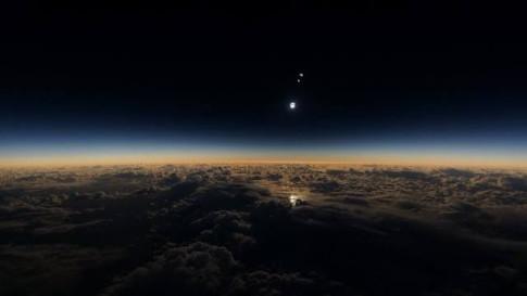 Solar Eclipse Reveals Massive Planetary Body Heading Towards Earth