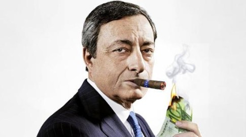 draghi burning cash
