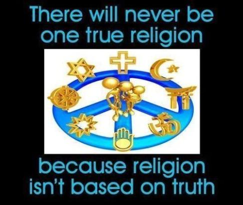 fake religion
