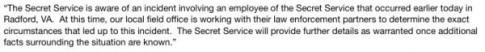 secret service statement_0