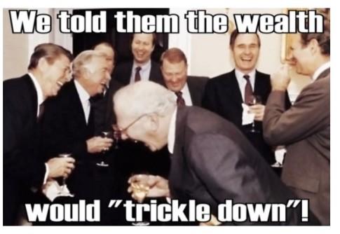 wealth trickle down