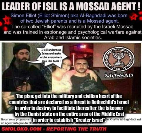 ISIS-Mossad-Israel