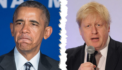 Obama Boris Johnson