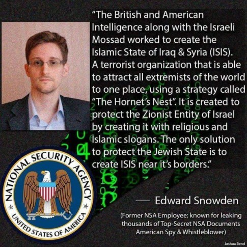 Snowden-ISIS-Israel