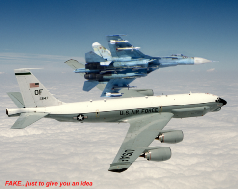 U.S. Spy Plane Again Intercepted By Russian Jet