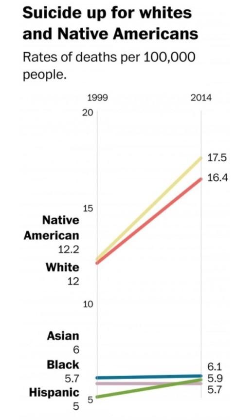 U.S. Suicide Rate Soars in 21st Century