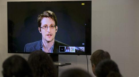 American whistleblower Edward Snowden