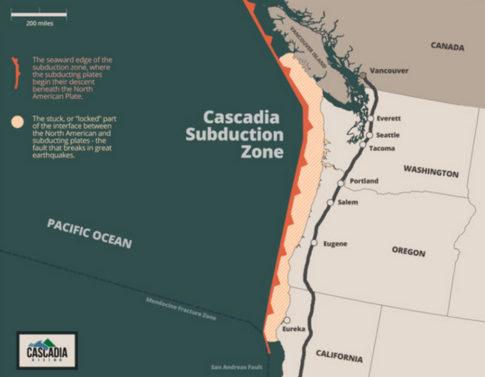 FEMA Preparing For Magnitude 9.0 Cascadia Subduction Zone Earthquake, Tsunami