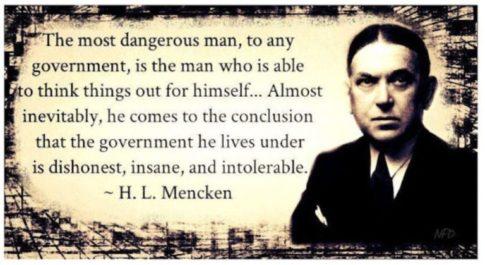 H. L. Mencken quote