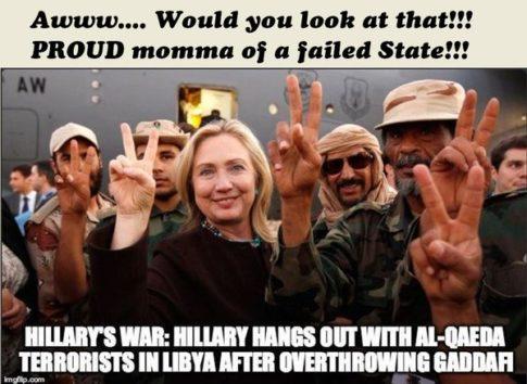 Hillary Clinton Al-Qaeda Libya