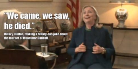 Hillary-Gaddafi