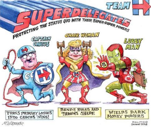 Hillarys New Avengers