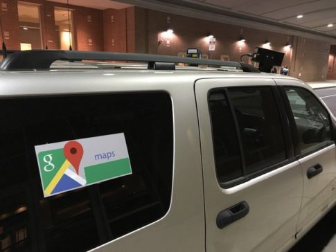 Look at this goverment spy truck disguised as a Google Streetview car