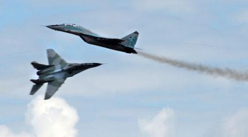 MiG 29 fighter jets
