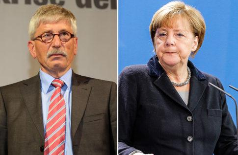 Sarrazin - Merkel
