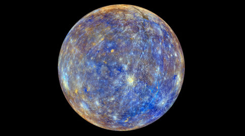 Watch Mercury travel across the face of the Sun