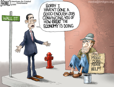 how great the economy is doing