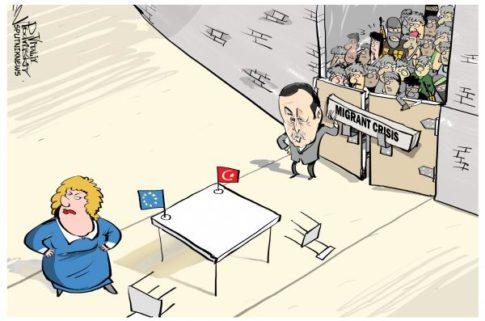 turkey migrant cartoon_0