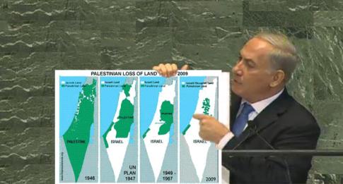netanyahu-stealing-palestine