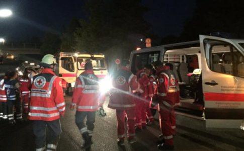 Axe-Wielding Afgan Man Shot Dead After Slashing At Least 20 People On German Train Screaming Allahu Akbar-2
