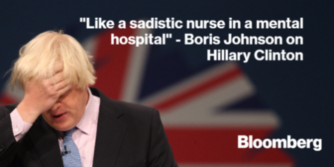Boris Johnson on Hillary