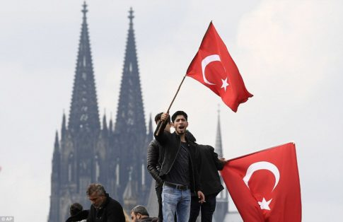 Germany,Cologne - Erdogan 2
