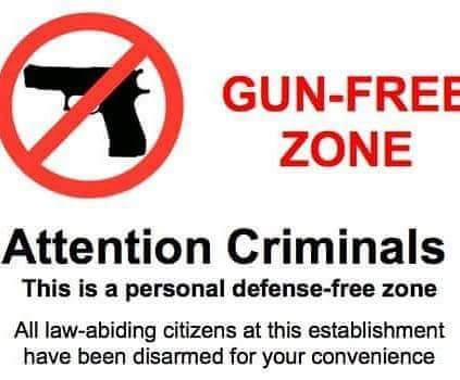 Gun Free Zone Guns