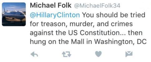 Michael-Folk-Clinton-hanging-tweet