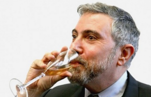 Paul-Krugman-Sipping