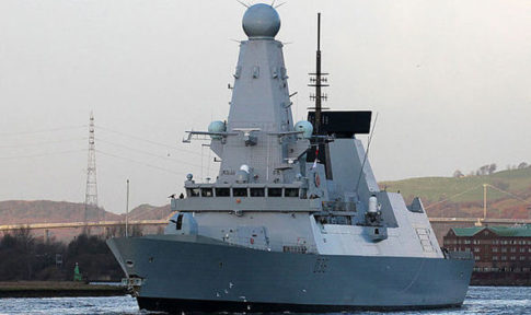 The engines of the £1 billion Type 45 destroyers fail in warm water