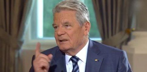 German President Joachim Gauck
