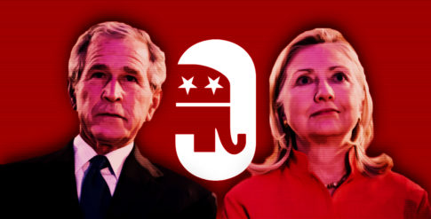 Hillary-Bush-GOP-Republican-Neocon