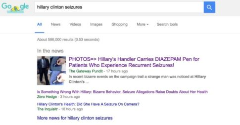 Hillary Seizure Drug